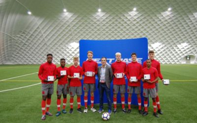 Kicking off Nextbase safety initiative in the Premier League